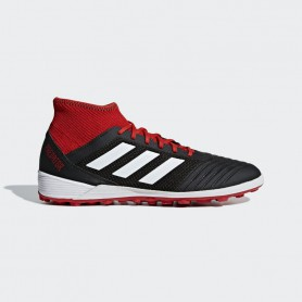 A1151 รองเท้าฟุตบอล 100ปุ่ม สนามหญ้าเทียม ADIDAS Predator Tango 18.3 TR-Black/White/Red
