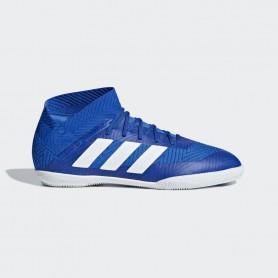 A1158 รองเท้าฟุตซอลเด็ก adidas Nemeziz Tango 18.3 IN Jr.-Blue/White