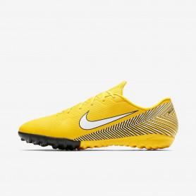 N1161 รองเท้าฟุตบอล 100ปุ่ม สนามหญ้าเทียม Nike Mercurial Vapor XII Academy Neymar TF-Amarillo/Black/White
