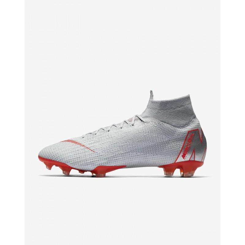 N1177 รองเท้าสตั๊ด รองเท้าฟุตบอล Nike Mercurial Superfly 360 Elite FG-Wolf Grey