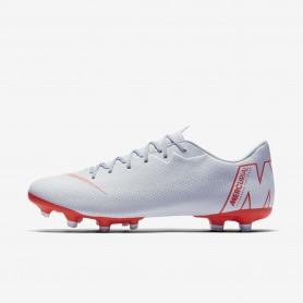 N1180 รองเท้าสตั๊ด รองเท้าฟุตบอล Nike Mercurial Vapor XII Academy MG-Wolf Grey