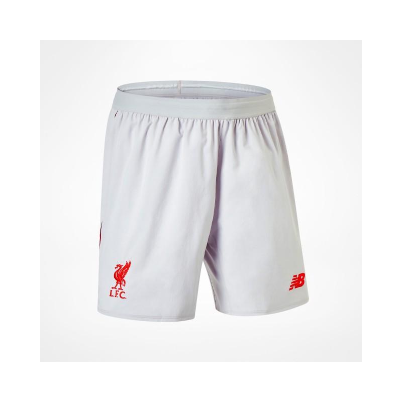NB1172 กางเกงฟุตบอล newbalance Liverpool Liverpool FC Away Short 18/19 - ชุดเยือน ของแท้
