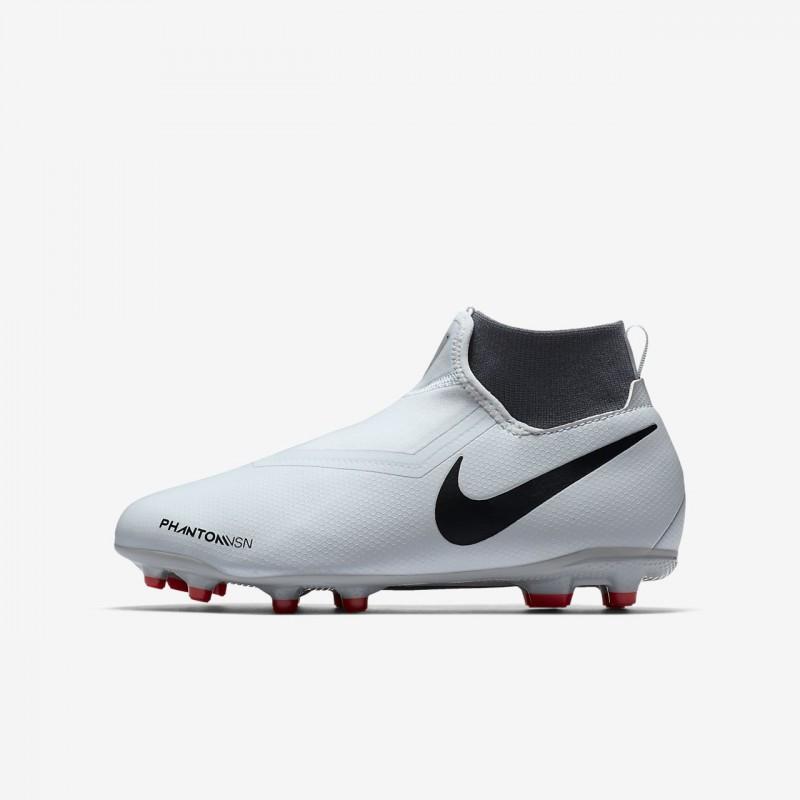 N1197 รองเท้าสตั๊ดเด็ก รองเท้าฟุตบอลเด็ก Nike Jr. Phantom Vision Academy Dynamic Fit MG