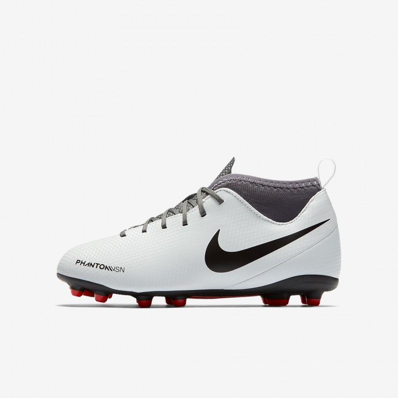 N1198 รองเท้าสตั๊ดเด็ก รองเท้าฟุตบอลเด็ก Nike Jr. Phantom Vision Club Dynamic Fit MG