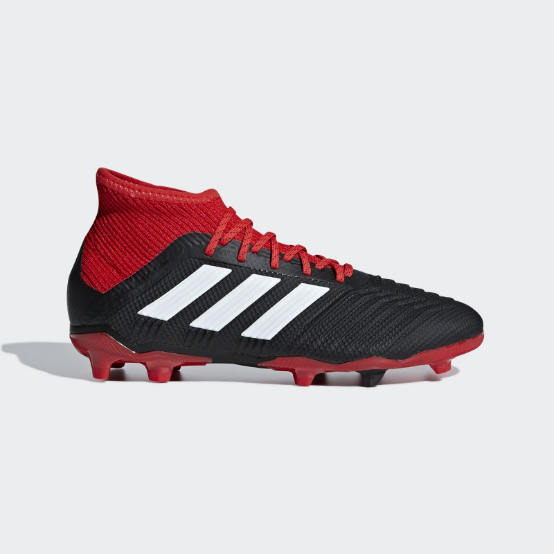 A1204 รองเท้าฟุตบอล รองเท้าสตั๊ดเด็ก ADIDAS Predator 18.1 JR. FG-black/red