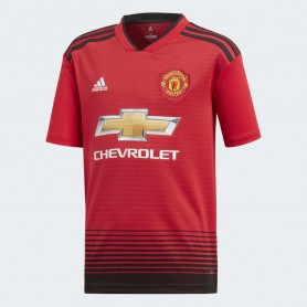 A1211 เสื้อฟุตบอลเด็ก ADIDAS Manchester United Home Replica Jersey 18/19-ของแท้