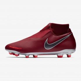 N1213 รองเท้าสตั๊ด รองเท้าฟุตบอล Nike Phantom Vision Academy Dynamic Fit MG-Team Red/Mtlc Dark Grey