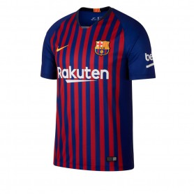 N1216 เสื้อฟุตบอล NIKE barcelona stadium home 2018/19 - ชุดเหย้า ของแท้