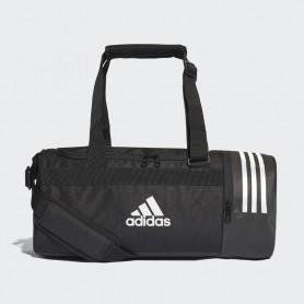 A1231 กระเป๋า Adidas Convertible 3-Stripes Duffel Bag Small-BLACK