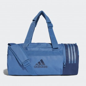 A1234 กระเป๋า Adidas Convertible 3-Stripes Duffel Bag Small-Blue
