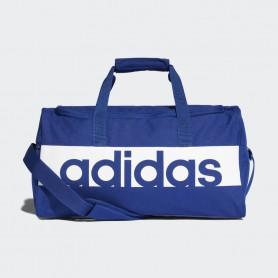 A1238 กระเป๋า Adidas Linear Performance Duffel Bag Small-Blue