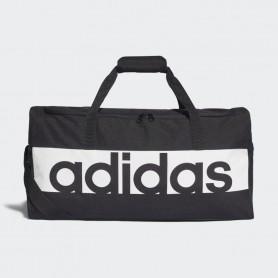 A1239 กระเป๋า Adidas Linear Performance Duffel Bag Medium-BLACK