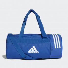 A1240 กระเป๋า Adidas Convertible 3-Stripes Duffel Bag Small-Blue