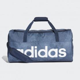 A1241 กระเป๋า Adidas Linear Performance Duffel Bag Medium-Raw Steel
