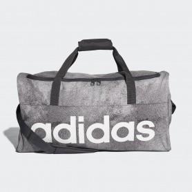 A1242 กระเป๋า Adidas Linear Performance Duffel Bag Medium-Gray