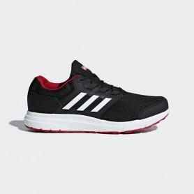 A1244 รองเท้า ADIDAS Galaxy 4 Shoes-Black/white/scarlet