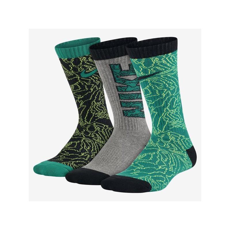 N0156 ถุงเท้า Nike แพค 3 คู่ - graphic