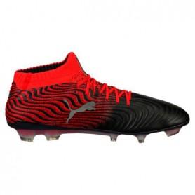 P0166 รองเท้าฟุตบอล รองเท้าสตั๊ด PUMA ONE 17.1 FG FG -Black/Red