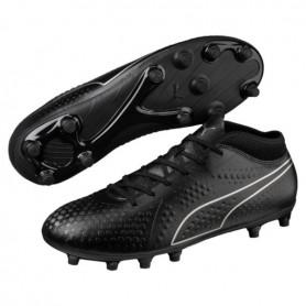 P1345 รองเท้าฟุตบอล รองเท้าสตั๊ด PUMA ONE 4 Synthetic FG-Black