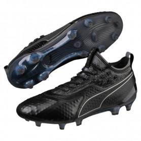 P1347 รองเท้าฟุตบอล รองเท้าสตั๊ด PUMA ONE 1 LTH FG/AG-Black