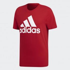 A1407 เสื้อยืดแฟชั่น adidas Essentials Linear-Red
