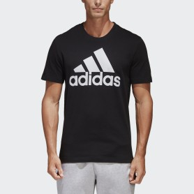 A1412 เสื้อยืดแฟชั่น adidas Essentials Linear-BLACK/WHITE