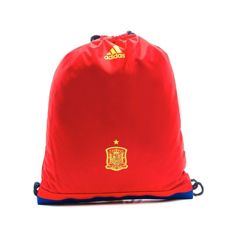 A0189 กระเป๋า adidas Spain Soccer Team Gym Bag - Red