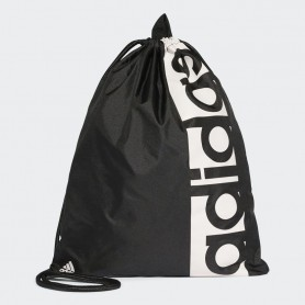 A0190 กระเป๋า adidas LINEAR PERFORMANCE GYM SACK - Black/White