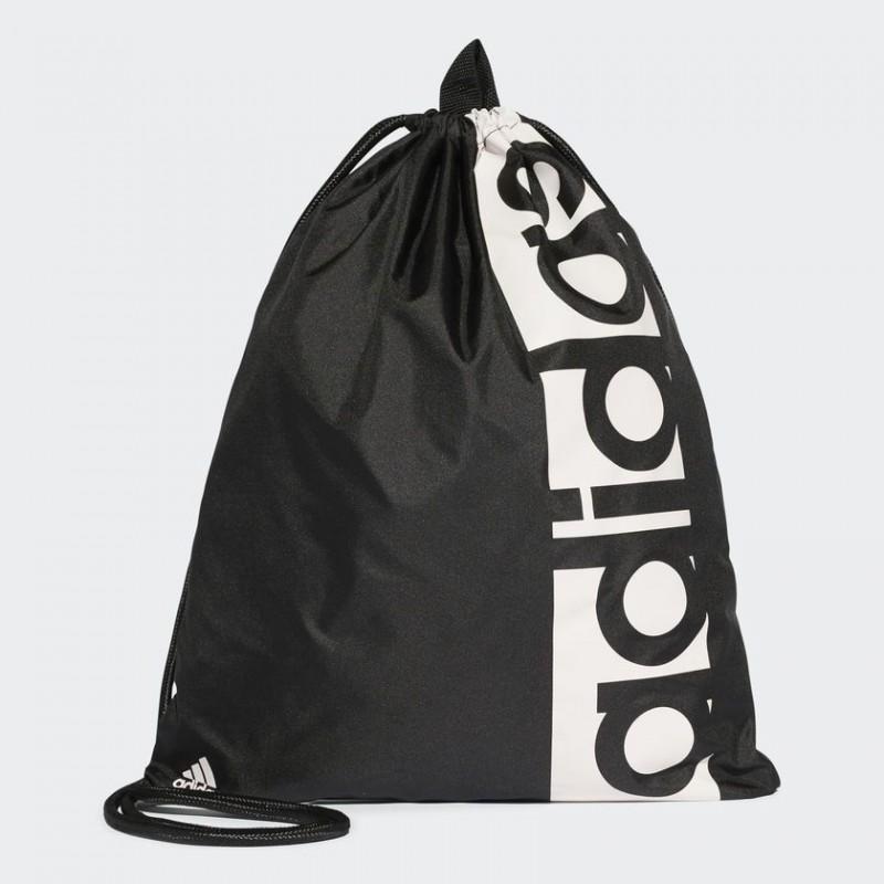 A0190 กระเป๋า adidas LINEAR PERFORMANCE GYM SACK - Black/White