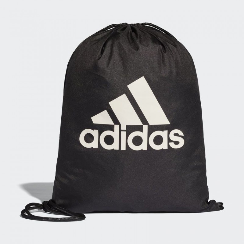 A0191 กระเป๋า adidas PERFORMANCE LOGO GYM BAG - Black/Black/White