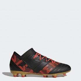 A0022 รองเท้าฟุตบอล รองเท้าสตั๊ด ADIDAS Nemeziz 17.2 FG -Black/Red
