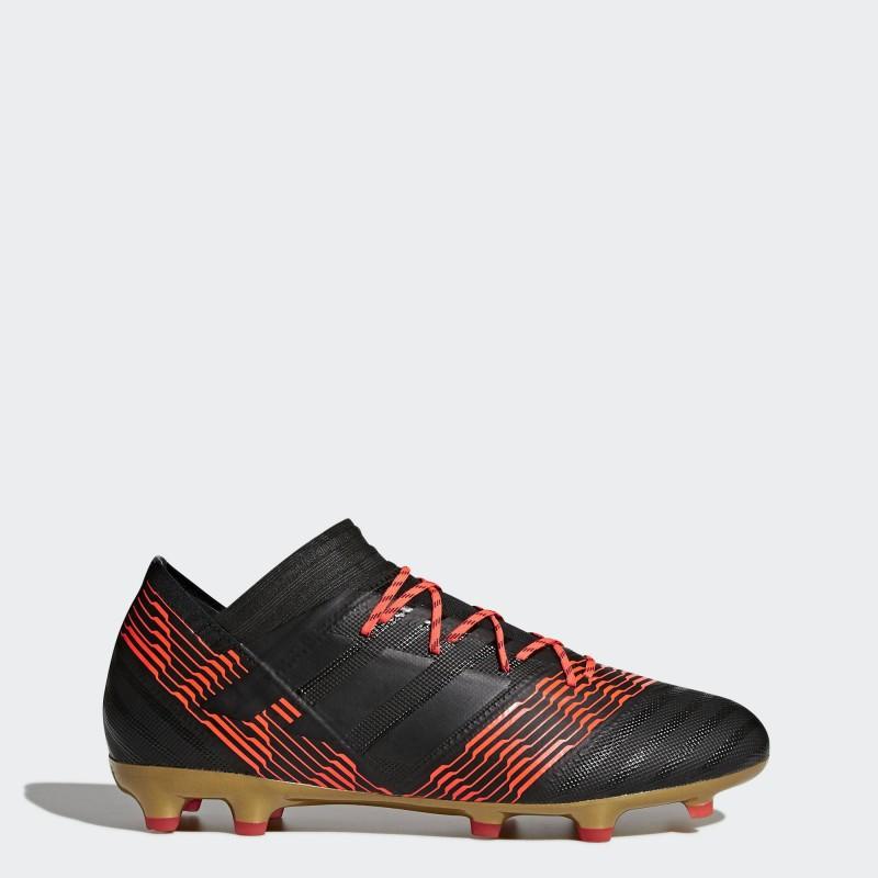 รองเท้าฟุตบอล รองเท้าสตั๊ด Nemeziz 18.2 FG -Black/Red