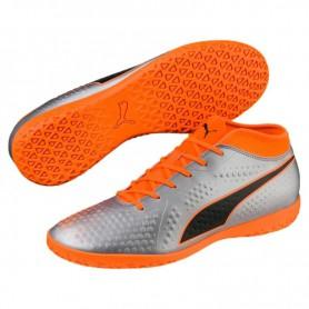 P1189 รองเท้าฟุตซอล PUMA FUTURE 2.4 IT-Orange/Black
