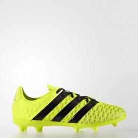 A0207 รองเท้าฟุตบอล รองเท้าสตั๊ดเด็ก ADIDAS ACE 16.1 FG J - Solar Yellow
