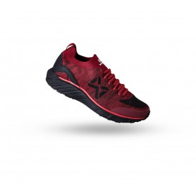 W1602 รองเท้าวิ่ง Warrix COMBAKNIT 1.0 - สีแดง/ดำ