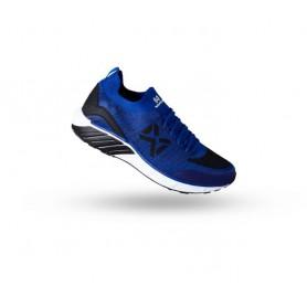 W1604 รองเท้าวิ่ง Warrix COMBAKNIT 1.0 - สีน้ำเงิน/ดำ