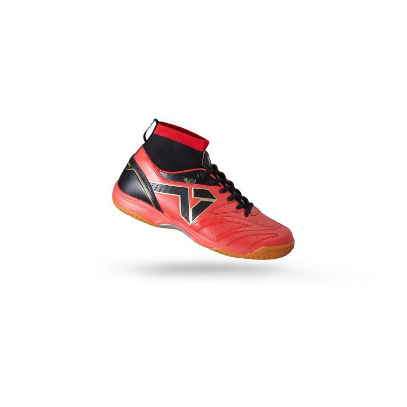 W1606 รองเท้าฟุตซอล Warrix URAYASU - สีแดง/ดำ