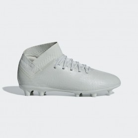 A1643 รองเท้าฟุตบอล รองเท้าสตั๊ดเด็ก ADIDAS Nemeziz 18.3 JR. FG -ASH SILVER / ASH SILVER / WHITE TINT