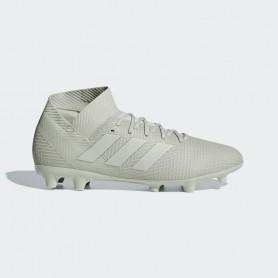 A1650 รองเท้าฟุตบอล รองเท้าสตั๊ด ADIDAS Nemeziz 18.3 FG -Ash Silver/Running White