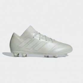 A1651 รองเท้าฟุตบอล รองเท้าสตั๊ด ADIDAS Nemeziz 18.2 FG -Ash Silver/White Tint