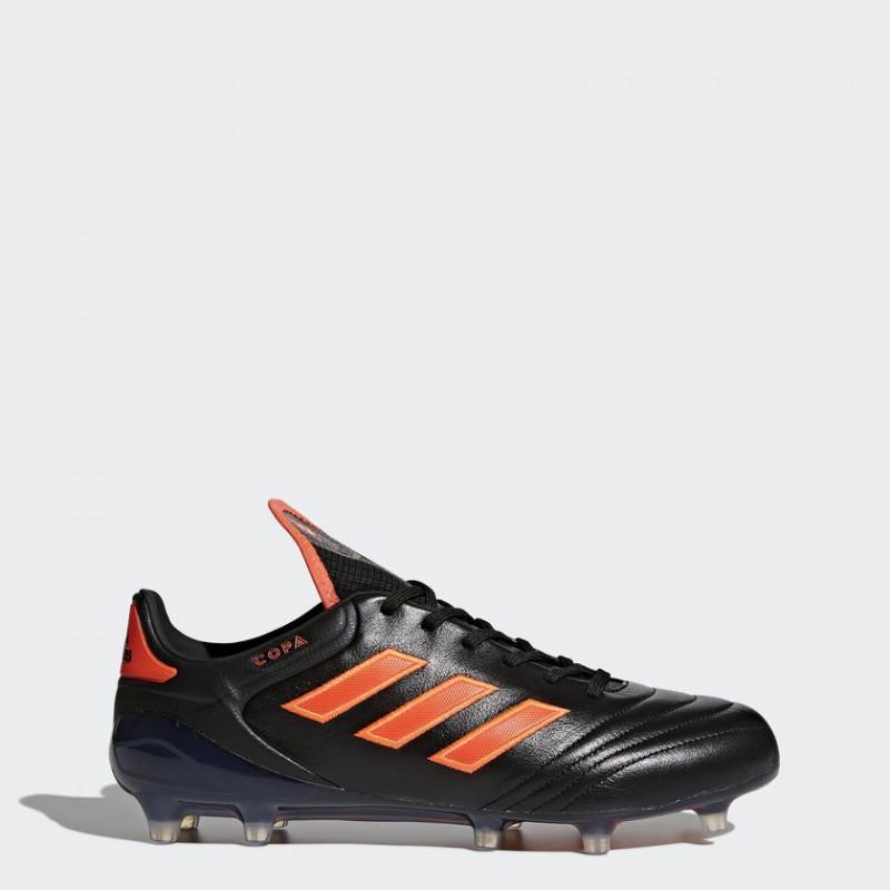 A0217 รองเท้าฟุตบอล รองเท้าสตั๊ด ADIDAS COPA 17.1 FG - Core Black / Infrared
