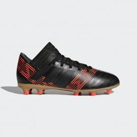 A0020 รองเท้าฟุตบอล รองเท้าสตั๊ดเด็ก ADIDAS Nemeziz 17.3 JR. FG -Black/Red