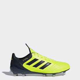 A0218 รองเท้าฟุตบอล รองเท้าสตั๊ด ADIDAS COPA 17.1 FG - Solar Yellow