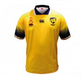 C1707 เสื้อรักบี้ Canterbury Thailand Rugby Jersey Yellow-ของแท้