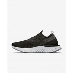 N1733 รองเท้าวิ่ง ผู้หญิง Nike Epic React Flyknit-Black/Dark Grey