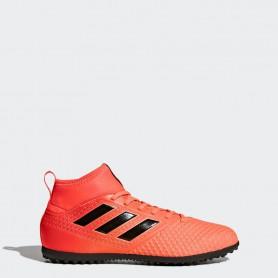 A0222 รองเท้าฟุตบอล 100 ปุ่มเด็ก สนามหญ้าเทียม ADIDAS ACE 17.3 PRIMEMESH TF Jr. - Solar Red
